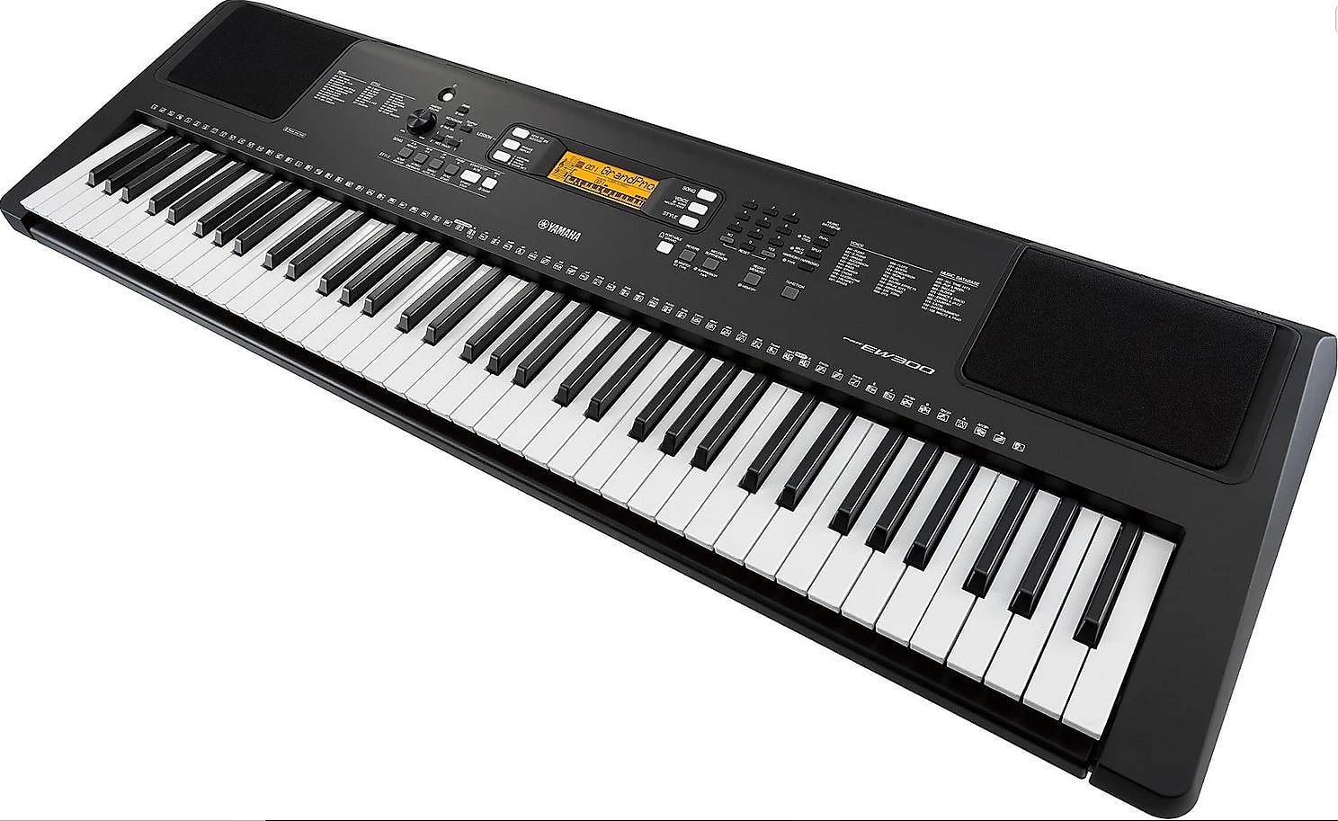 Yamaha PSR-EW300 76-key Portable Arranger Keyboard with Survival Kit