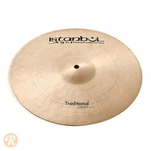 """Istanbul Agop 15"""" Traditional Light Hi-Hat (Top)"""