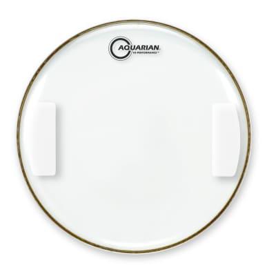 "Aquarian HPSN14-U 14"" Classic Clear Hi-Performance Snare Side Drum Head"