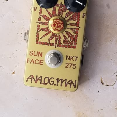 Analogman Sun Face Red Dot NKT-275 Germanium Fuzz - Collectible Classic!