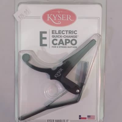 Kyser KGEB Quick Change 6-String Electric Guitar Capo