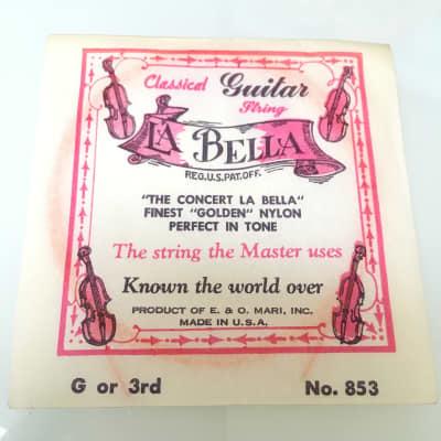 La Bella Vintage Classical Golden Nylon String No. 853