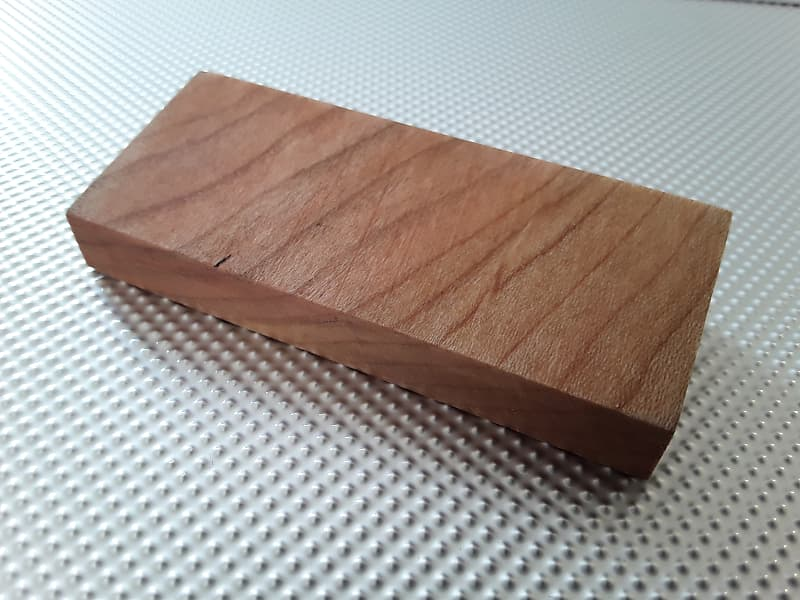Cherry Wood Timber block for modern Stratocaster American Standard  Professional Deluxe Elite