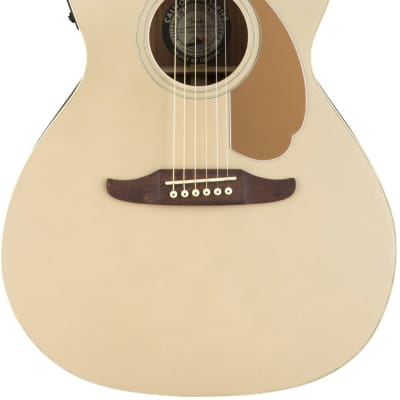 Fender Newporter Player Acoustic Electric Guitar - Champagne for sale
