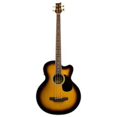 Beaver Creek Acoustic Bass Vintage Sunburst w/Bag BCB05CEVSB for sale