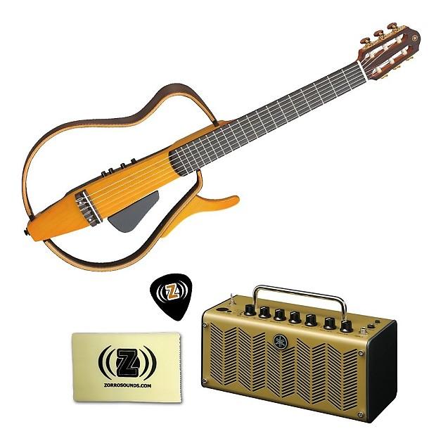 Yamaha slg130nw silent guitar kit w yamaha amp zorro for Yamaha silent guitar slg130nw