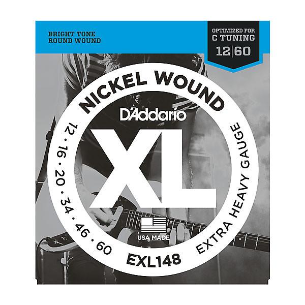 d 39 addario nickel wound exl148 extra heavy guitar strings reverb. Black Bedroom Furniture Sets. Home Design Ideas