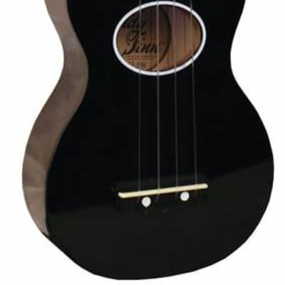 Eddy Finn EF Minnow Soprano Series Ukulele with Bag - Black for sale