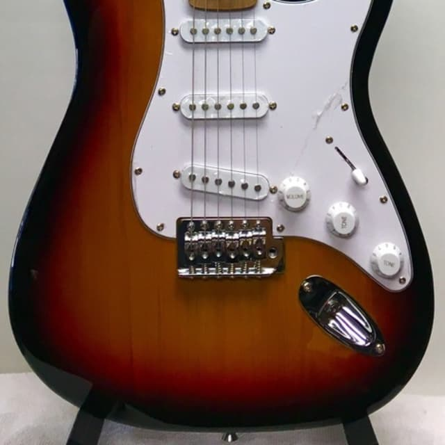Smiger L-G ES-style Electric Guitar in orange sunburst image