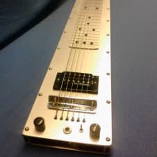 Fouke Industrial Guitars Baritone Rail lap steel guitar image