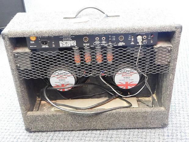 Carvin Xv 212 2 X 12 All Tube Guitar Amp Reverb