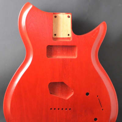 Rosser Guitars RBT  Custom Guitar Body Mahogany 2015 Transparent Cherry Lacquer for sale