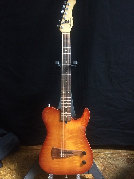 sadowsky electric nylon string guitar 1994 sunburst reverb. Black Bedroom Furniture Sets. Home Design Ideas