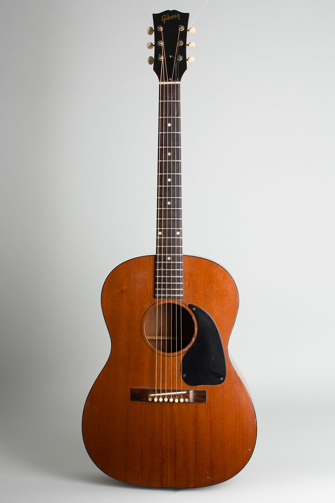Gibson  LG-0 Flat Top Acoustic Guitar (1962), ser. #52509, black hard shell case.