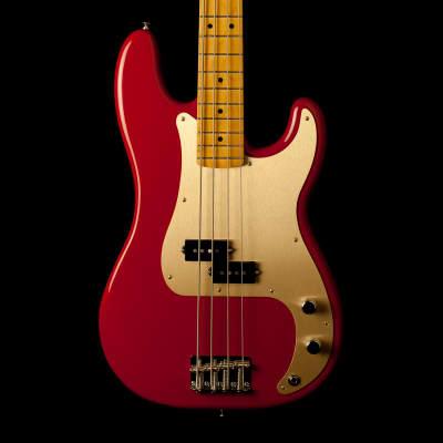 Fender Precision Bass Vintera 50's Dakota Red for sale