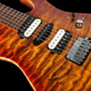 2013 Suhr Modern Carve Top HSH Set Neck Quilt Top ~ Copperhead Burst