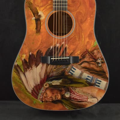 Martin D-18 RG Robert F. Goetzl Signature Dreadnought Lakota Graphic #3 2017 for sale