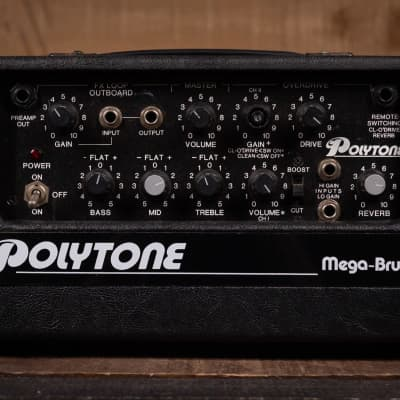 Polytone Mega-Brute Amp Head - Used for sale