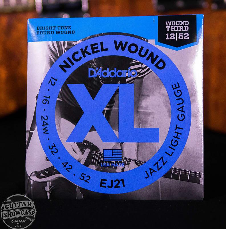 d 39 addario ej21 xl nickel wound electric guitar strings reverb. Black Bedroom Furniture Sets. Home Design Ideas