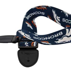 Woodrow Denver Broncos Guitar Strap