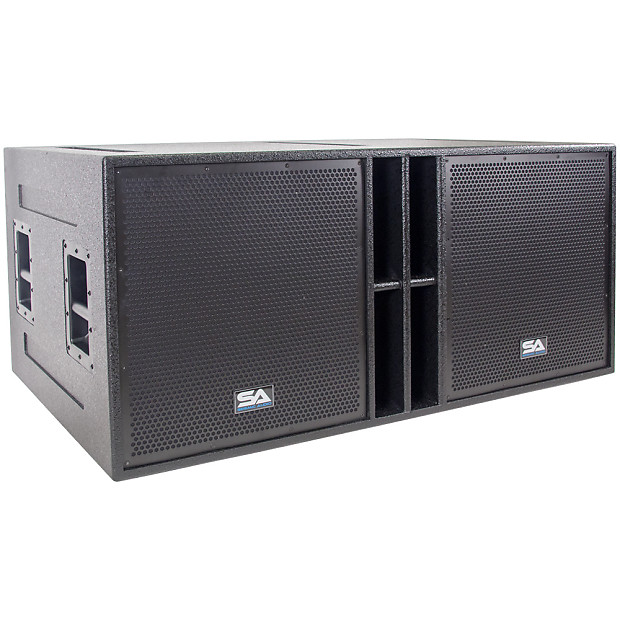 The Quad-18 - 4 x 18 Inch Subwoofer Cabinet - 4 x 18 Bass | Reverb
