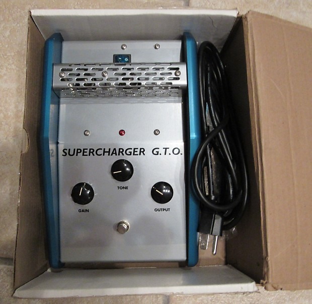 Used Gto Procharger: Soldano Supercharger GTO Blue