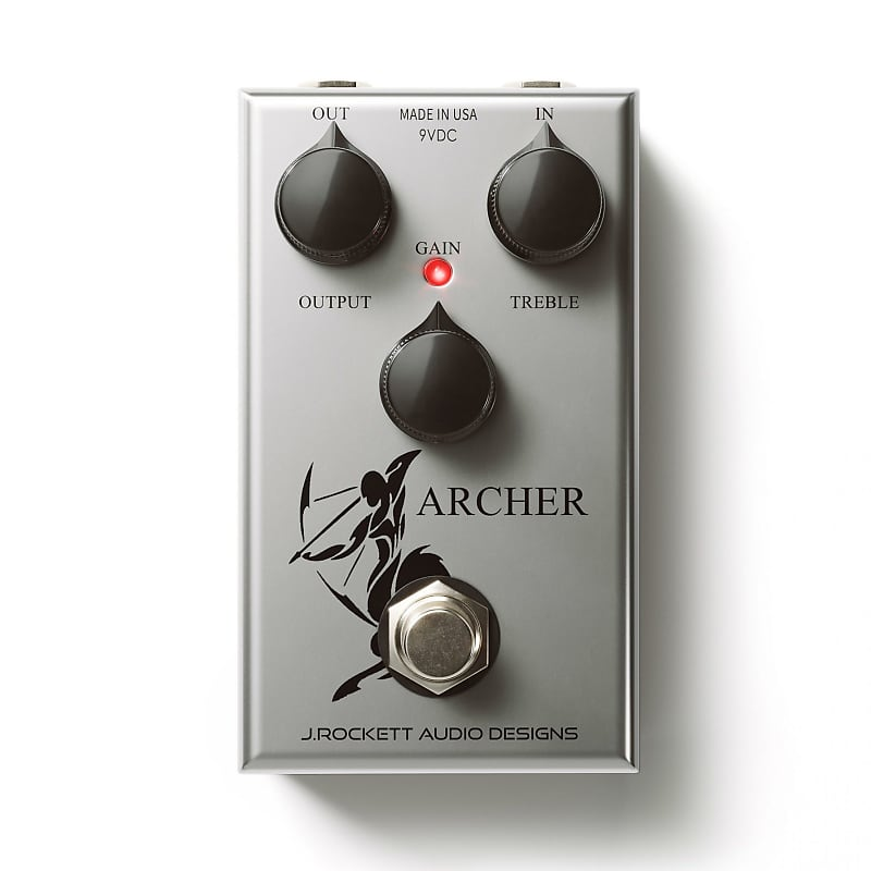 J. Rockett The Jeff Mod Archer Overdrive / Boost Effects Pedal