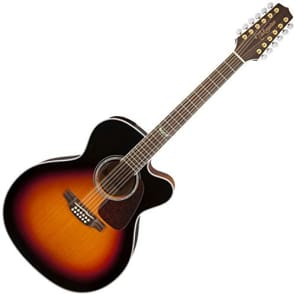 Takamine GJ72CE-12BSB Jumbo Cutaway 12-String Acoustic-Electric Guitar for sale