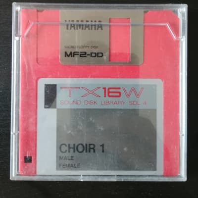 Yamaha Yamaha TX16W Sound Disk Library Choir