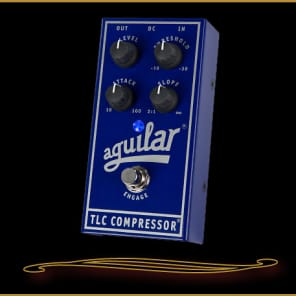 Aguilar TLC Bass Compressor Pedal  Blue for sale