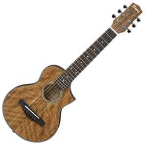 Ibanez EWP14OPN EW Piccolo Acoustic Guitar Natural