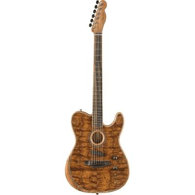 Fender American Acoustasonic Telecaster Exotic Koa