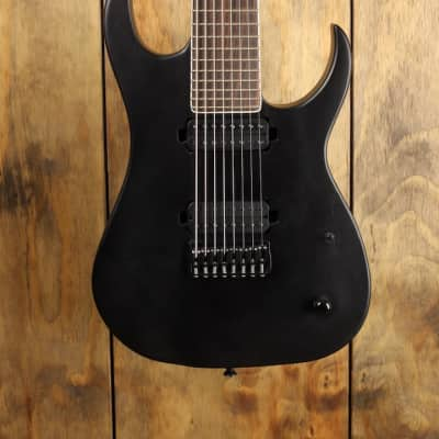 Strictly 7 Cobra 8 Neck Thru 8 string 2017 Black Satin for sale