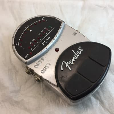 Fender PT-10 Tuner Stage Guitar Pedal for sale