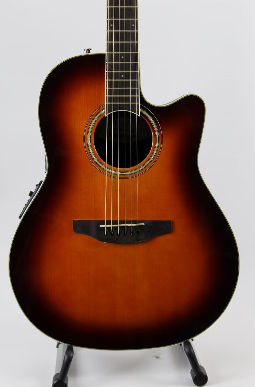Ovation Celebrity Standard Plus Mid Depth Cutaway Acoustic ...
