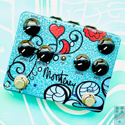 Keeley Monterey Rotary Fuzz Vibe - Signed by Robert Keeley!