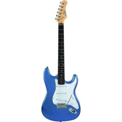 EKO S300 Metallic Blue Chitarra Elettrica Blu Metallizzato for sale
