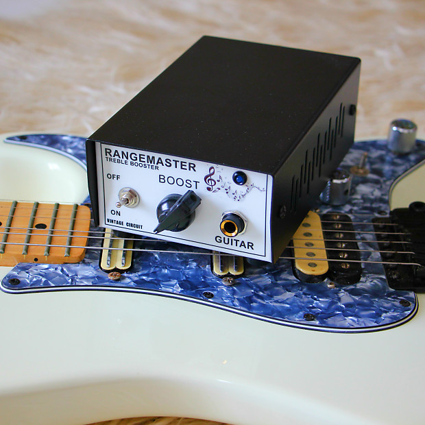 Rangemaster Treble booster nos tesla high quality parts guitar pedal range  master germanium pnp