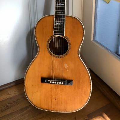 Vintage 1920 fancy Galiano Adirondack spuce & mahogany Guitar for sale
