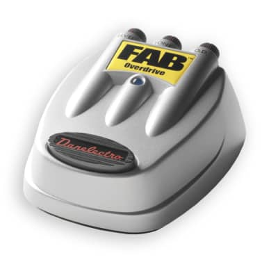 Danelectro D-2 FAB Overdrive Pedal Effect for sale