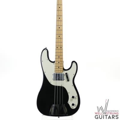 1974 Fender Telecaster Bass in Black w/ OHSC for sale