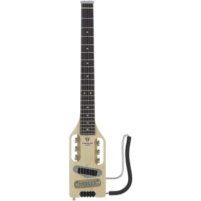 TRAVELER GUITAR Ultra-Light Electric Travel Guitar, Maple