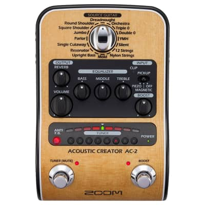 Zoom AC-2 Acoustic Creator Direct Box/Preamp Pedal image