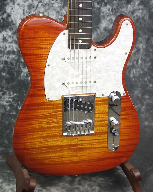 Fender foto flame telecaster price 70