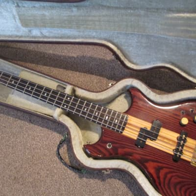 Westone Thunder III bass guitar 1984 dark walnut for sale
