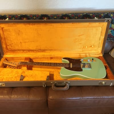 Fender AVRI '62 Custom Telecaster 2011 Surf Green for sale