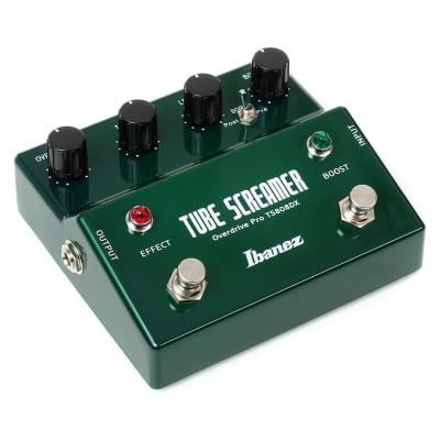 Ibanez TS808DX Tube Screamer Pro Deluxe Overdrive Pedal