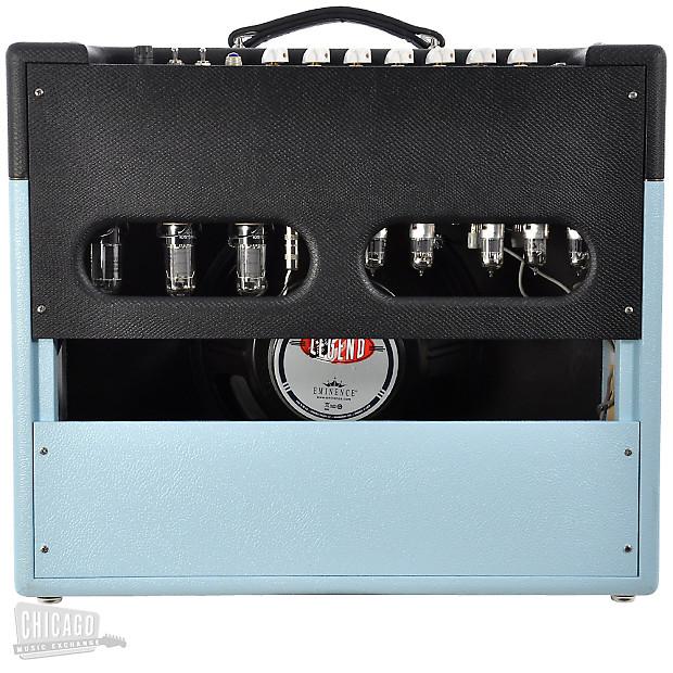 victoria silver sonic caroline blue black reverb. Black Bedroom Furniture Sets. Home Design Ideas