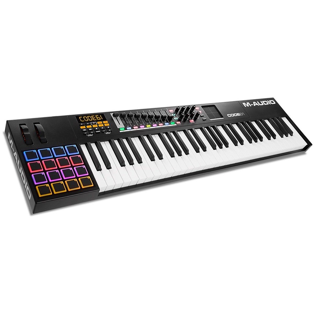 m audio code 61 usb midi keyboard controller reverb. Black Bedroom Furniture Sets. Home Design Ideas