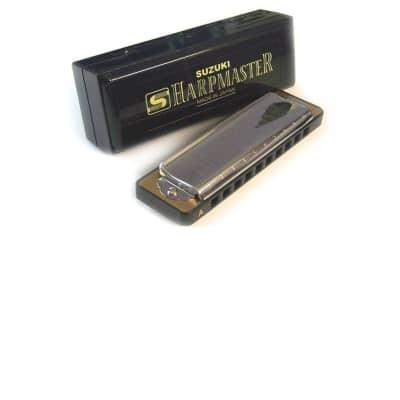 Suzuki Harpmaster - Suzuki Diatonic Harmonicas Key Low F